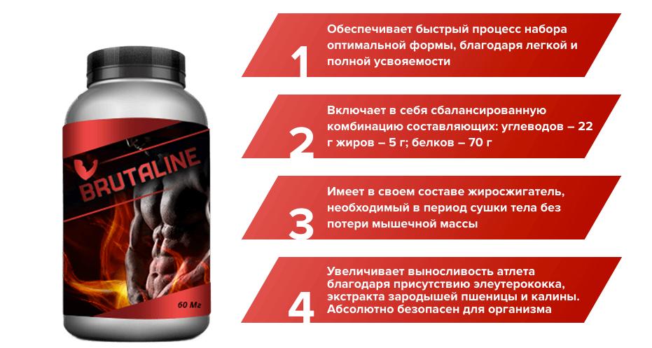 Brutaline для наращивания мышечной массы в Туле