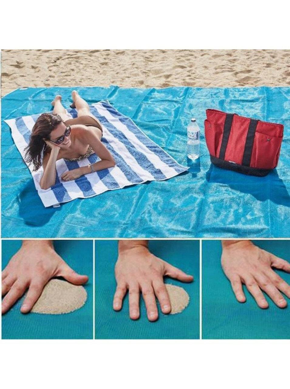 Пляжная подстилка ClapSand анти-песок в Невеле