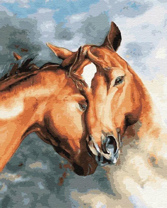 бывает, кони рисунки фото менее