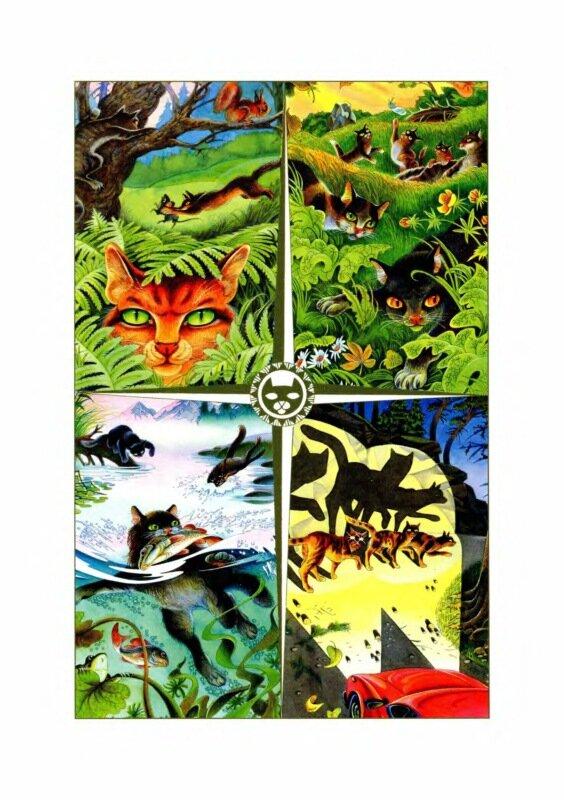 приколы коты воители герои племен мути