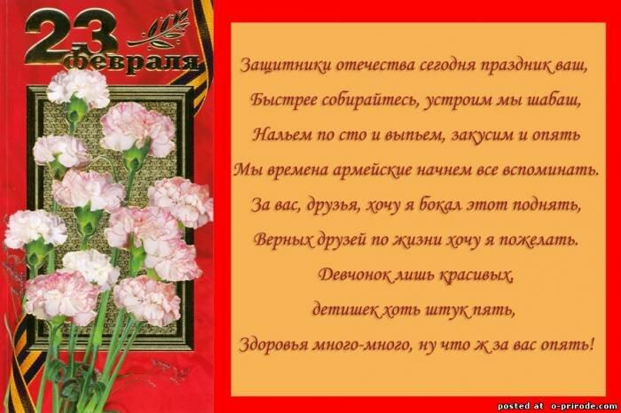Стихи на татарском на 23 февраля