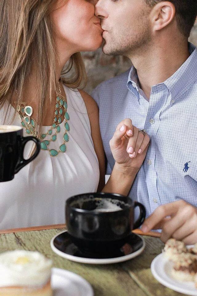 картинки завтрак для пары