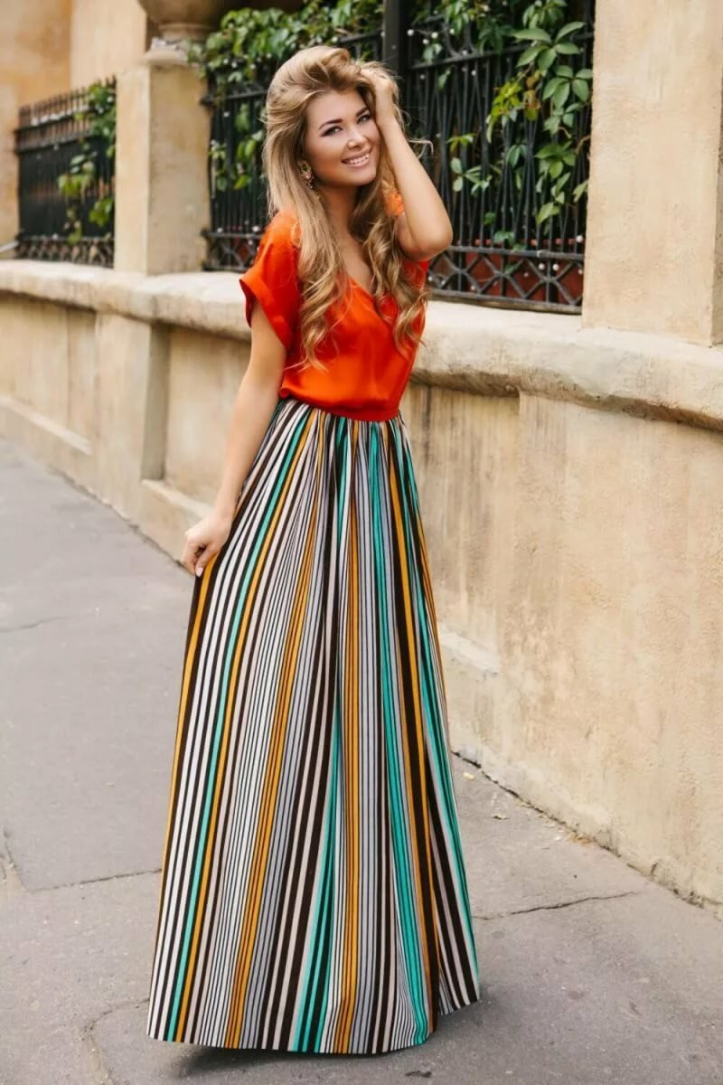 пошив отдала стильные длинные юбки фото покачивание