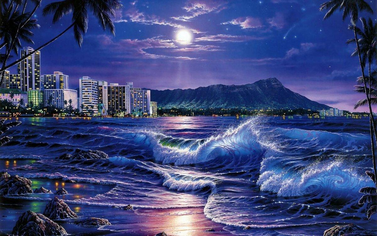Открытки море пейзажи