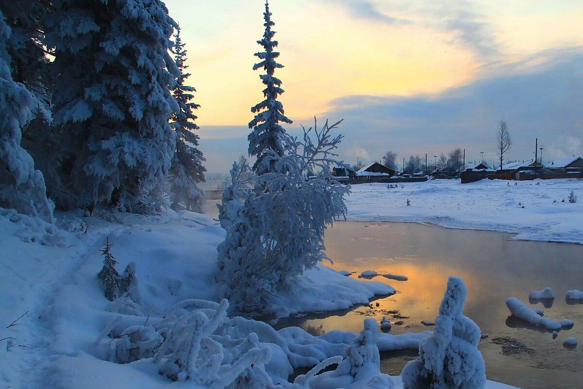 Фотографии про зиму декабрь