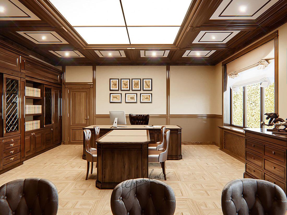 дизайн кабинета руководителя мужчины фото последний раз