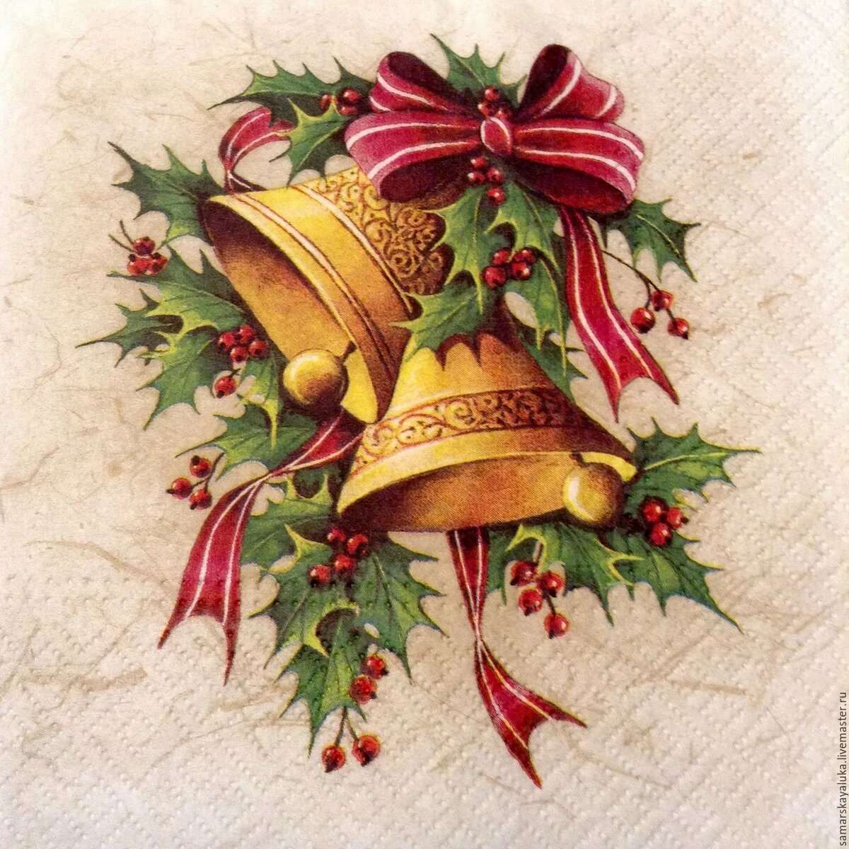 Рождественские открытки для принтера