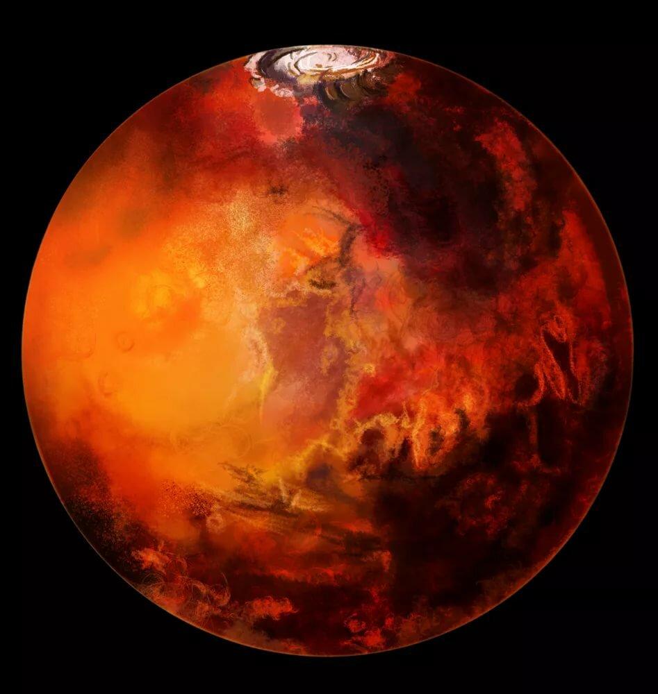 обществу картинки марса планеты из космоса компании дпк групп