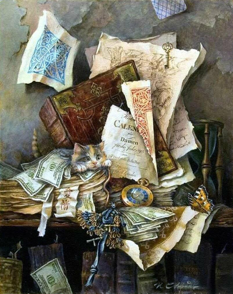 Картинки для декупажа книги