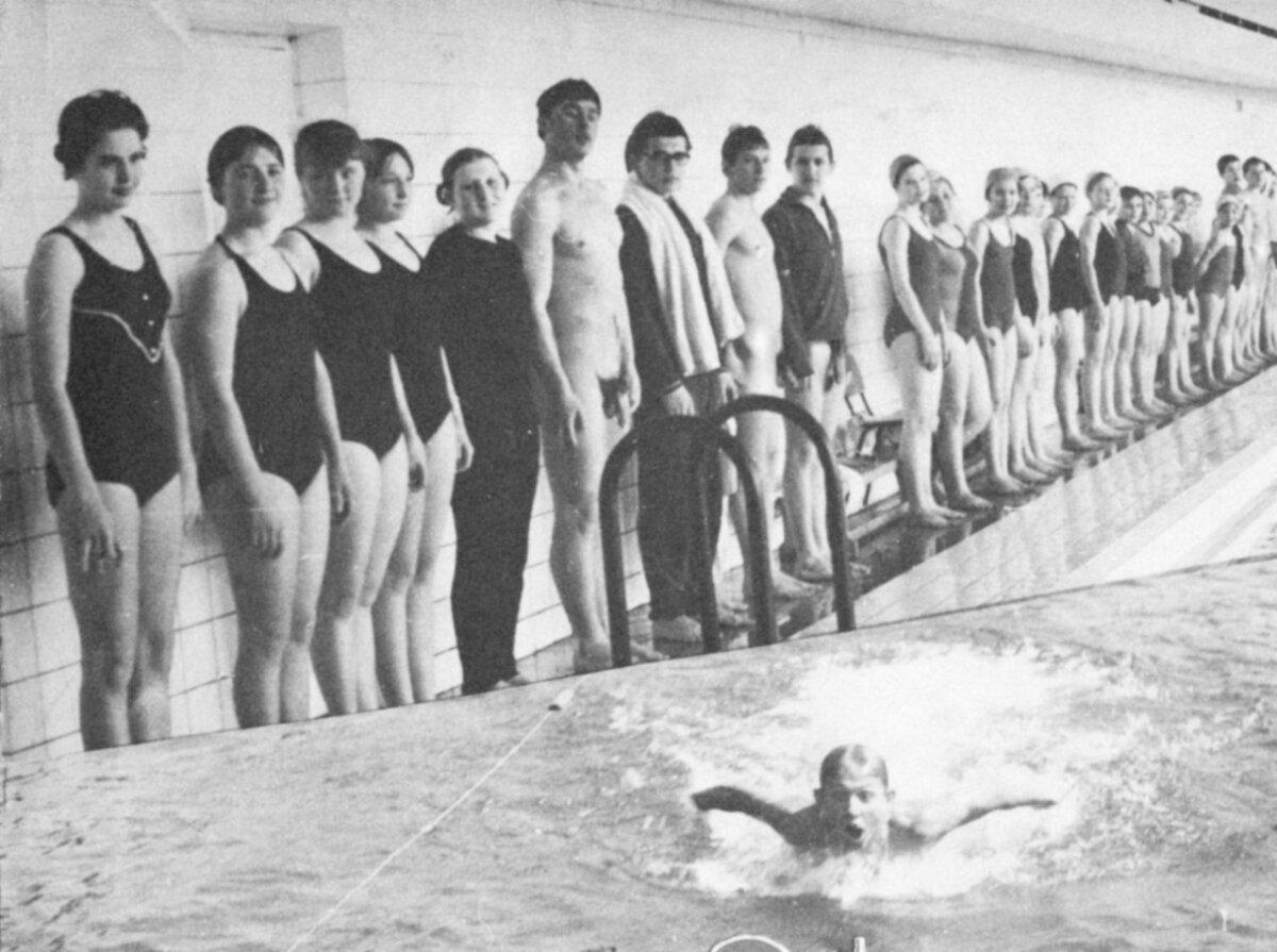 Ymca vintage nude boys swimming