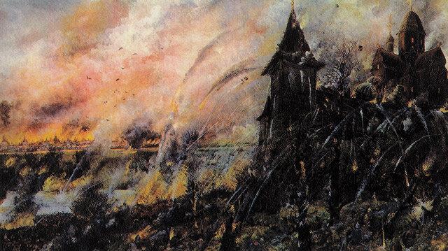 26 августа 1382 года татарский хан Тохтамыш захватил и сжег Москву