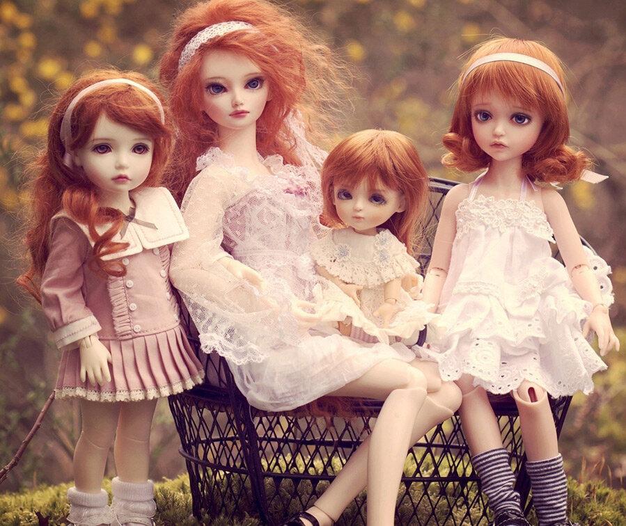 нашей картинки разных видов кукол про