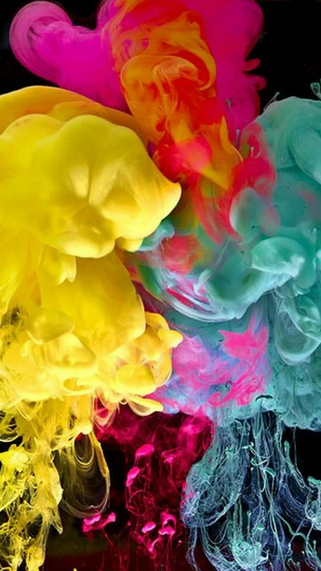Фотки краски в воде для фотосессий