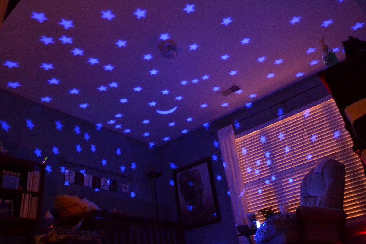 Проектор изображений на потолок