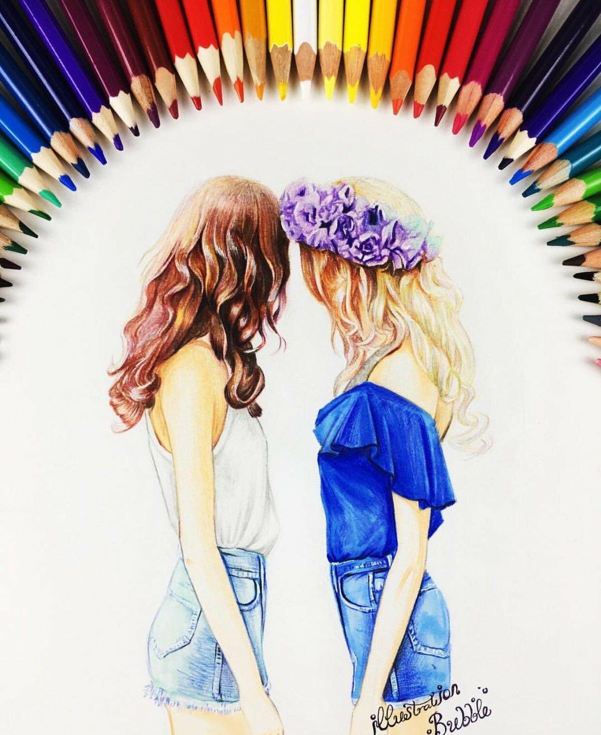 Картинки для лучших подружек