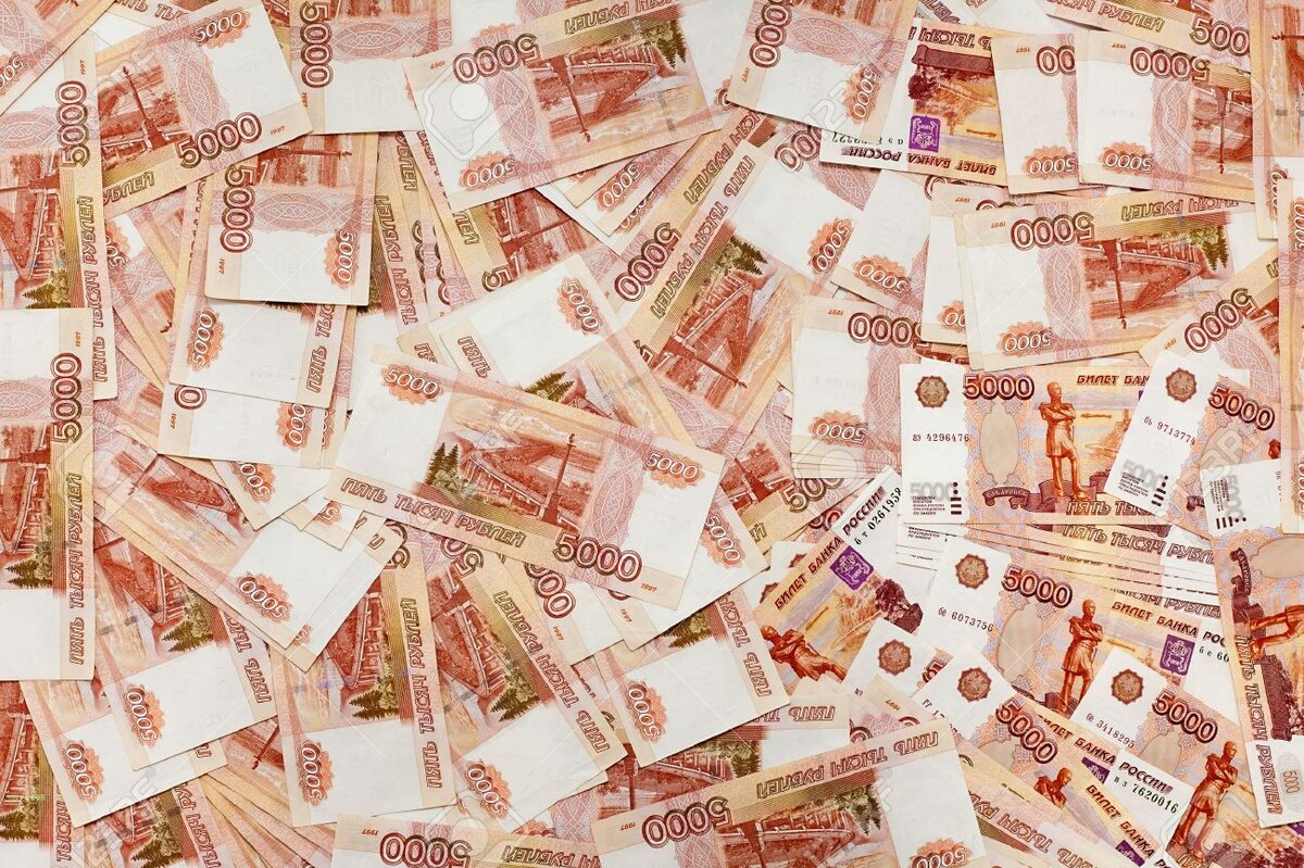 Картинки с купюрами русских денег, рождеством