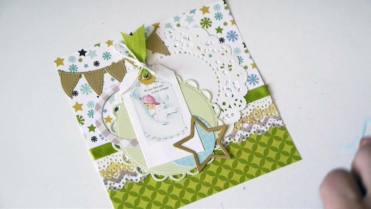Скрапбукинг открытки мальчику на день рождения, картинки