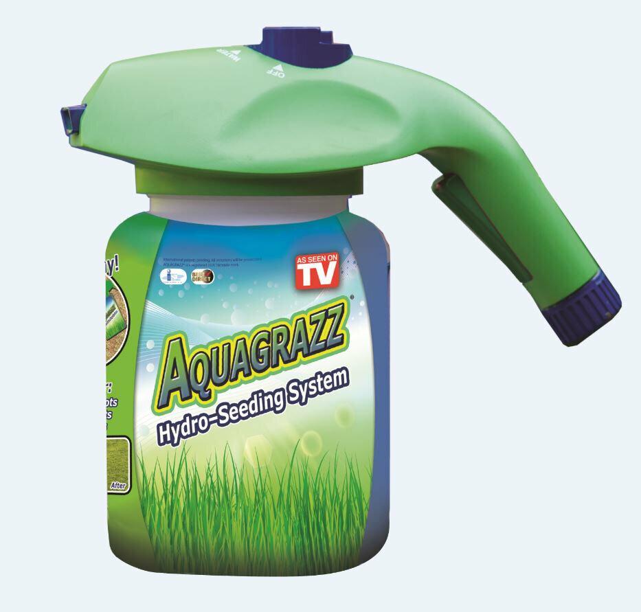 Жидкий газон AquaGrazz в Туринске