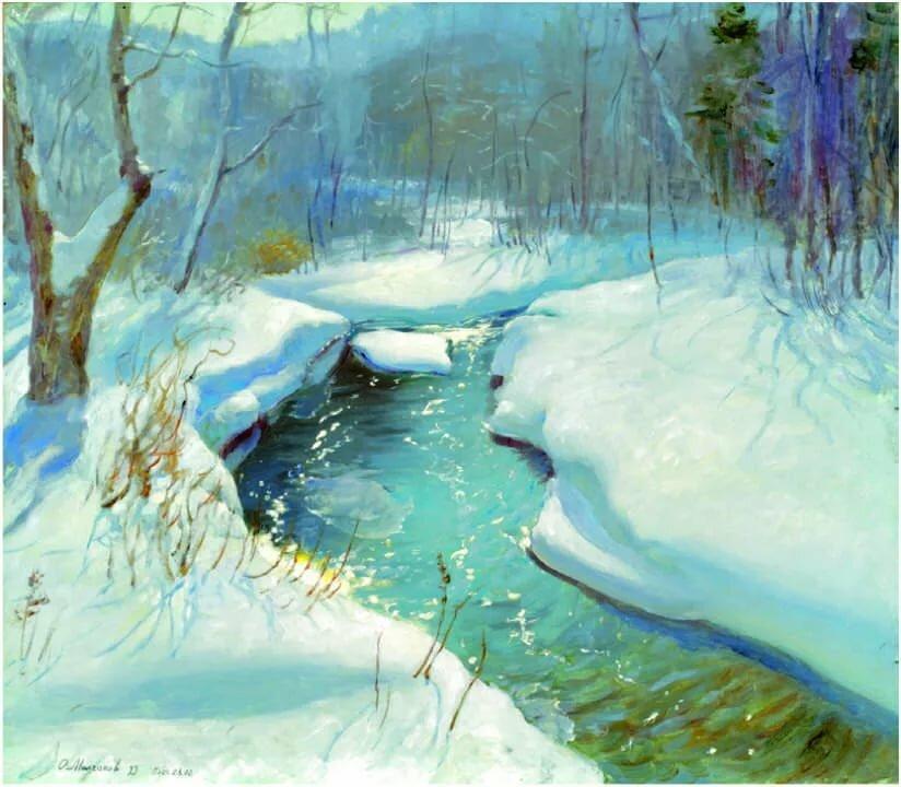 Весенний снег картинки для детей