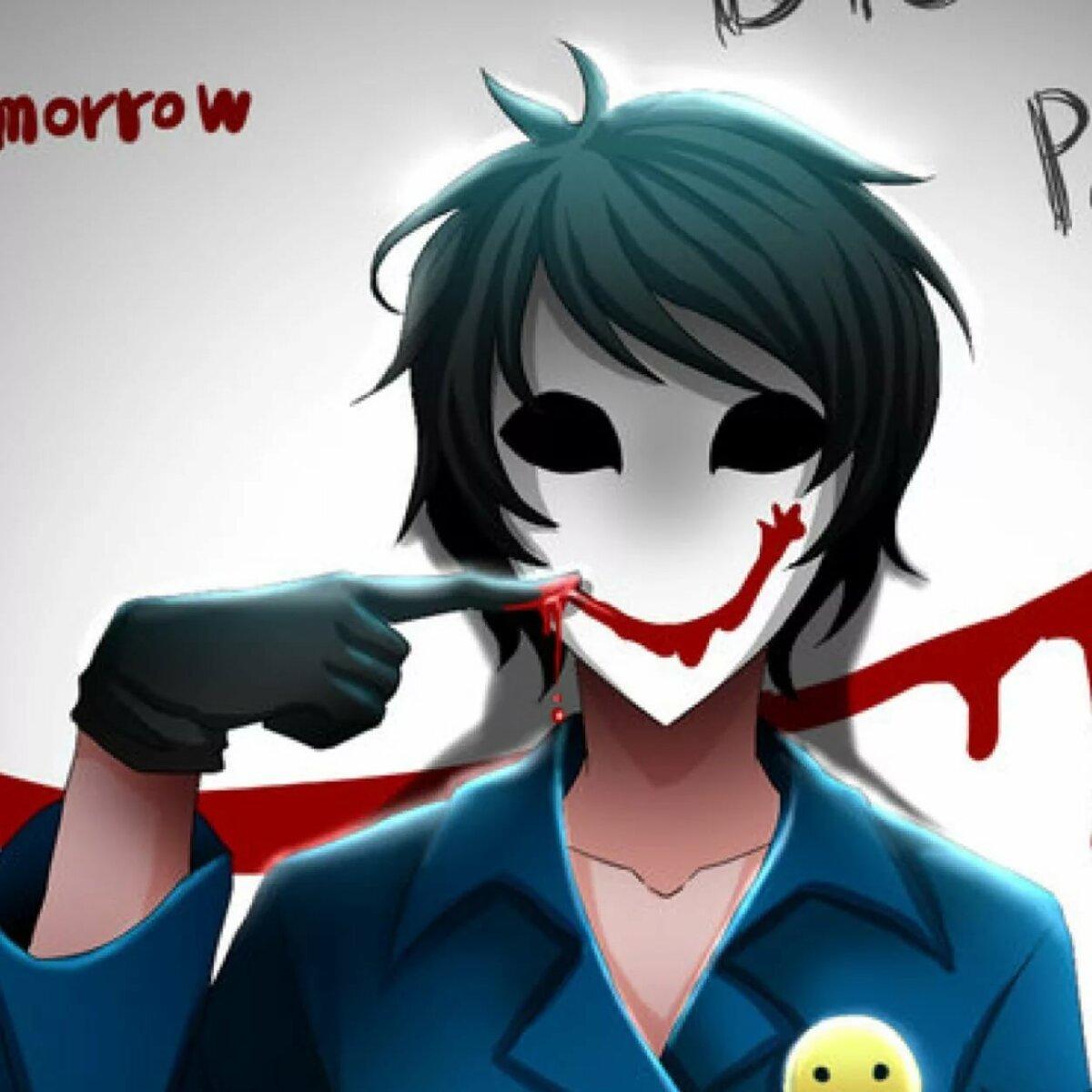 Кровавый художник из крипипасты картинки