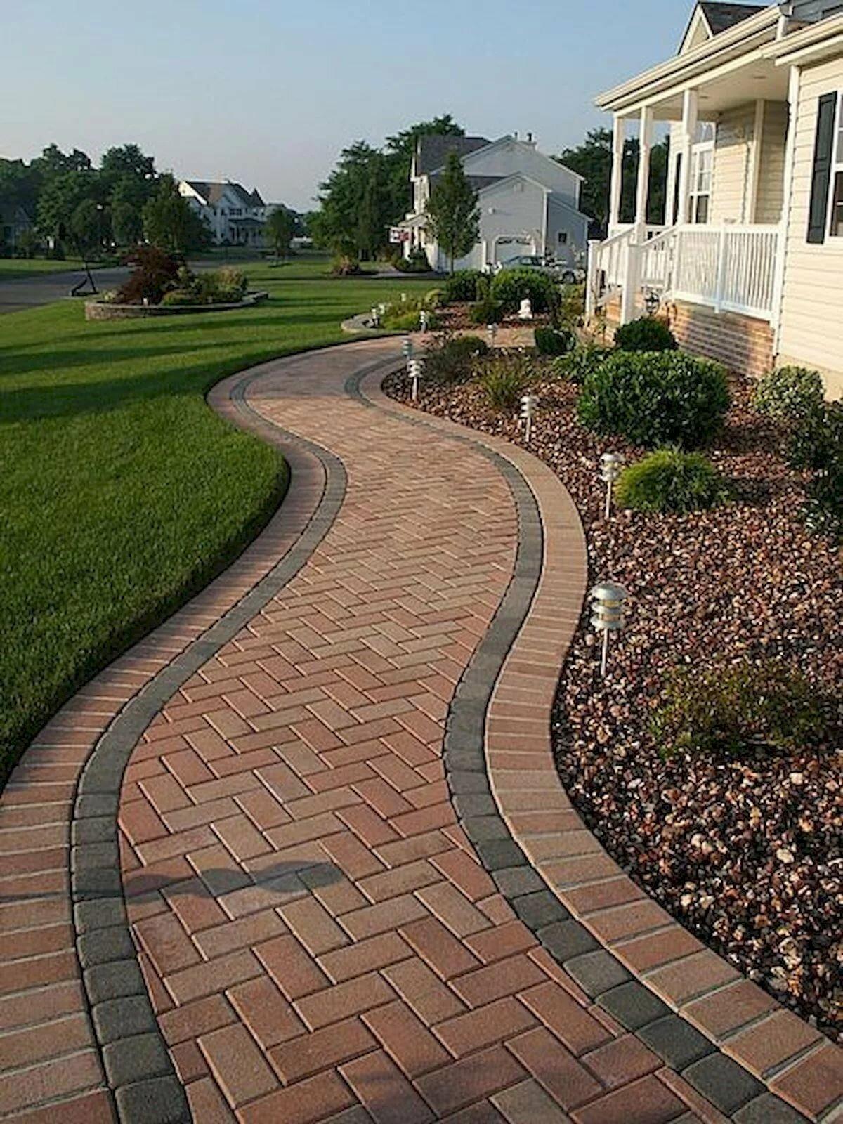 interlocking pavers for home driveways amp walkways - 600×800
