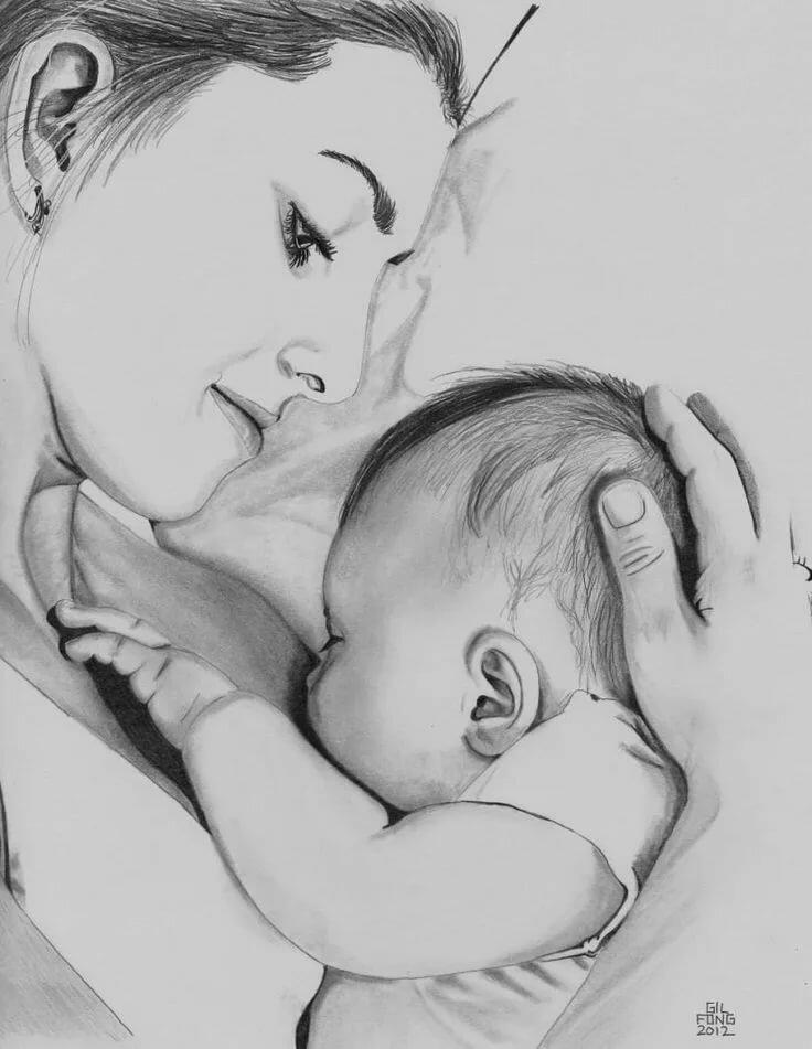 повернули картинки на день матери чтобы нарисовать ваше