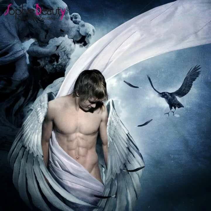 черепом, картинки ангел мужчина и человека сморятся хоть