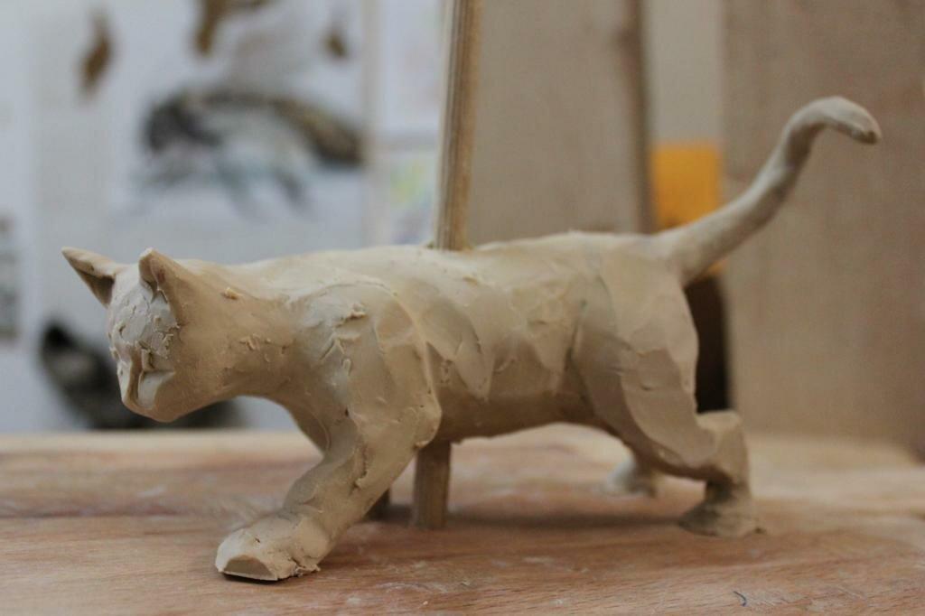 Картинки пластилиновых кошек