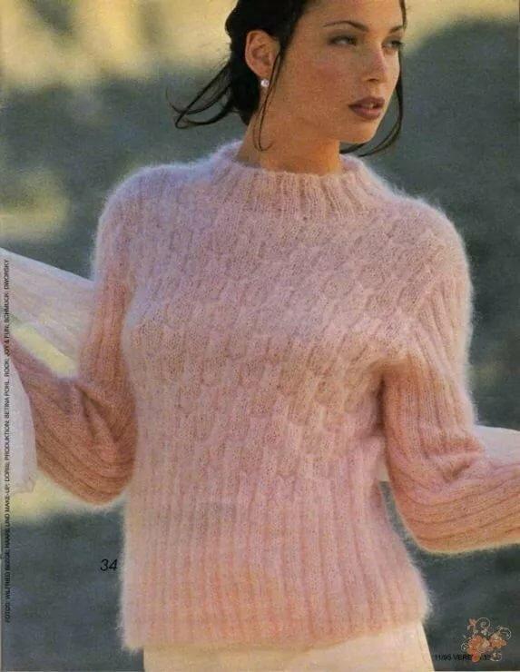 Саша каган вязание модели фото угольной