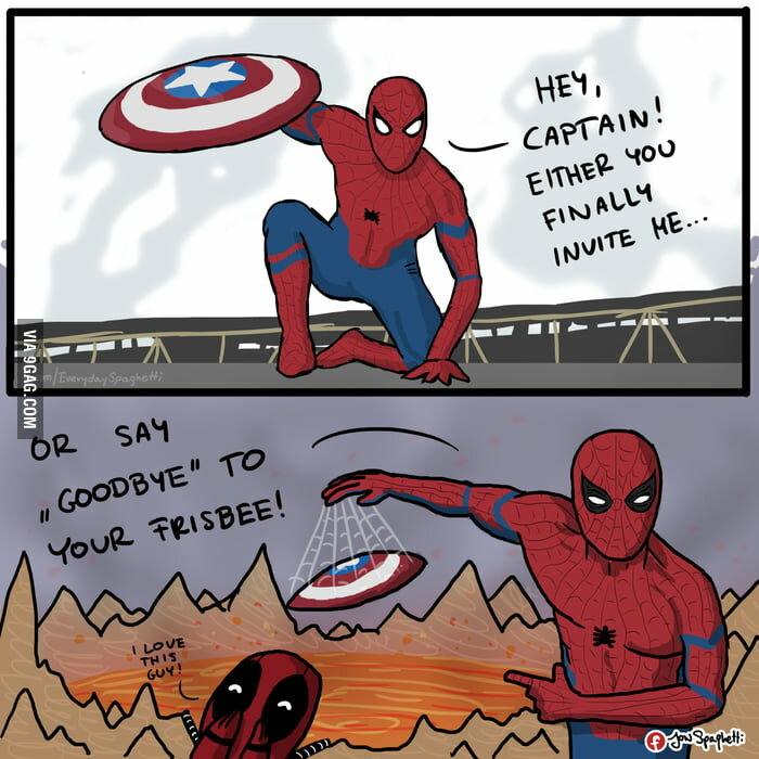Демотиваторы по человеку пауку
