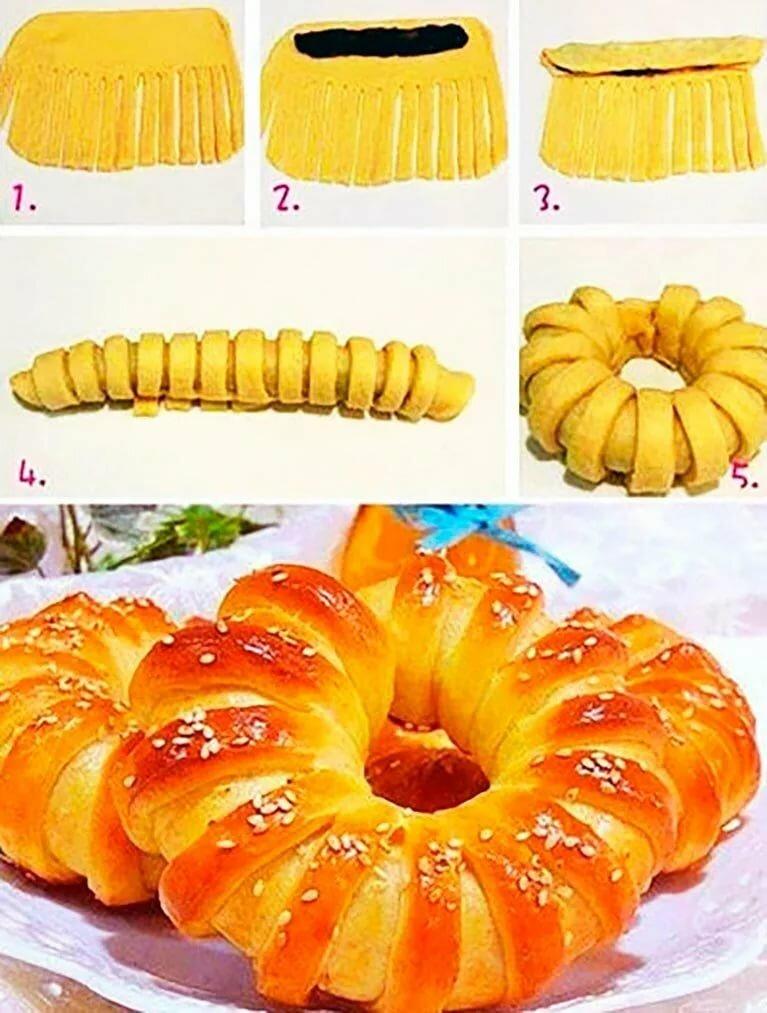 например, форма булочек из дрожжевого теста пошаговое фото подробно расскажет