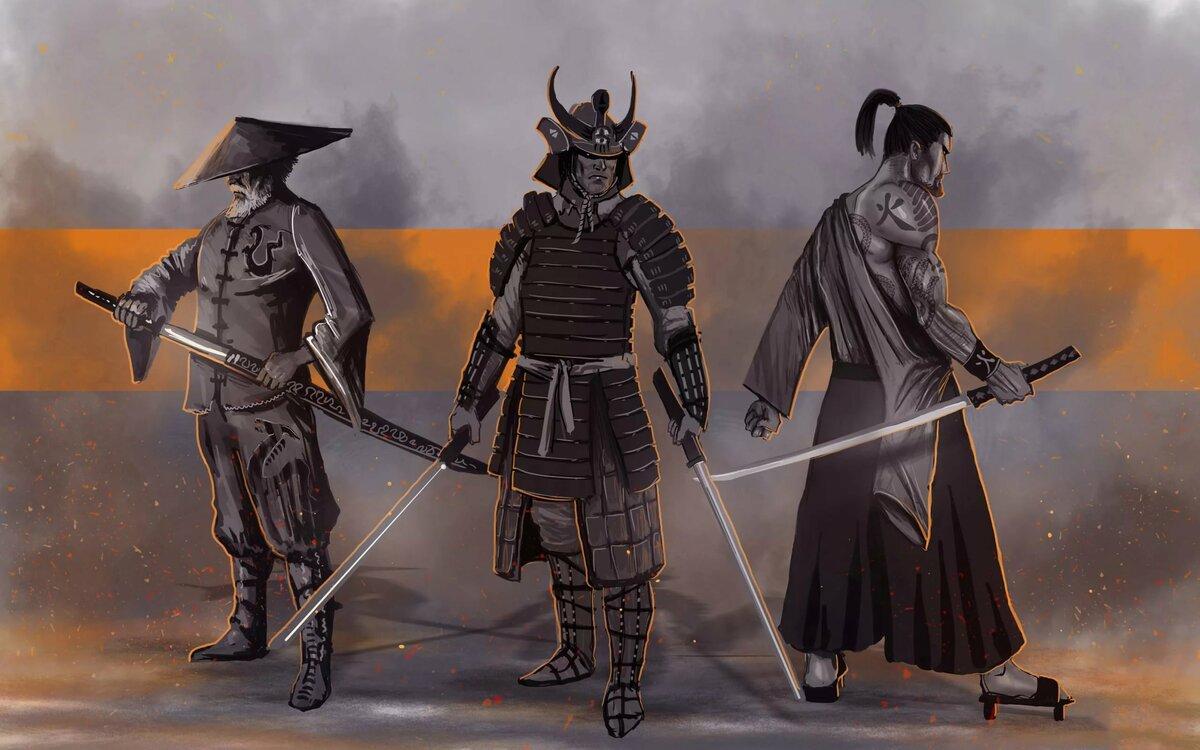 нее самураи ронины в картинках около года