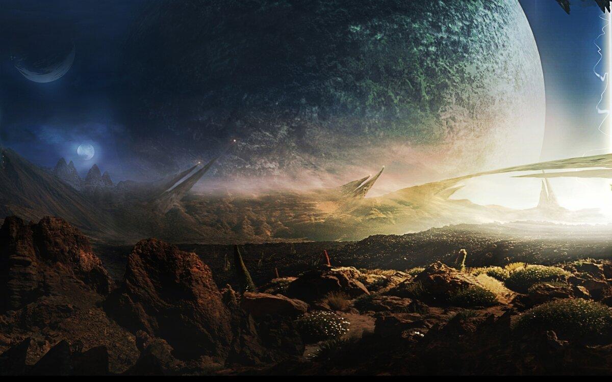 На чужой планете картинки
