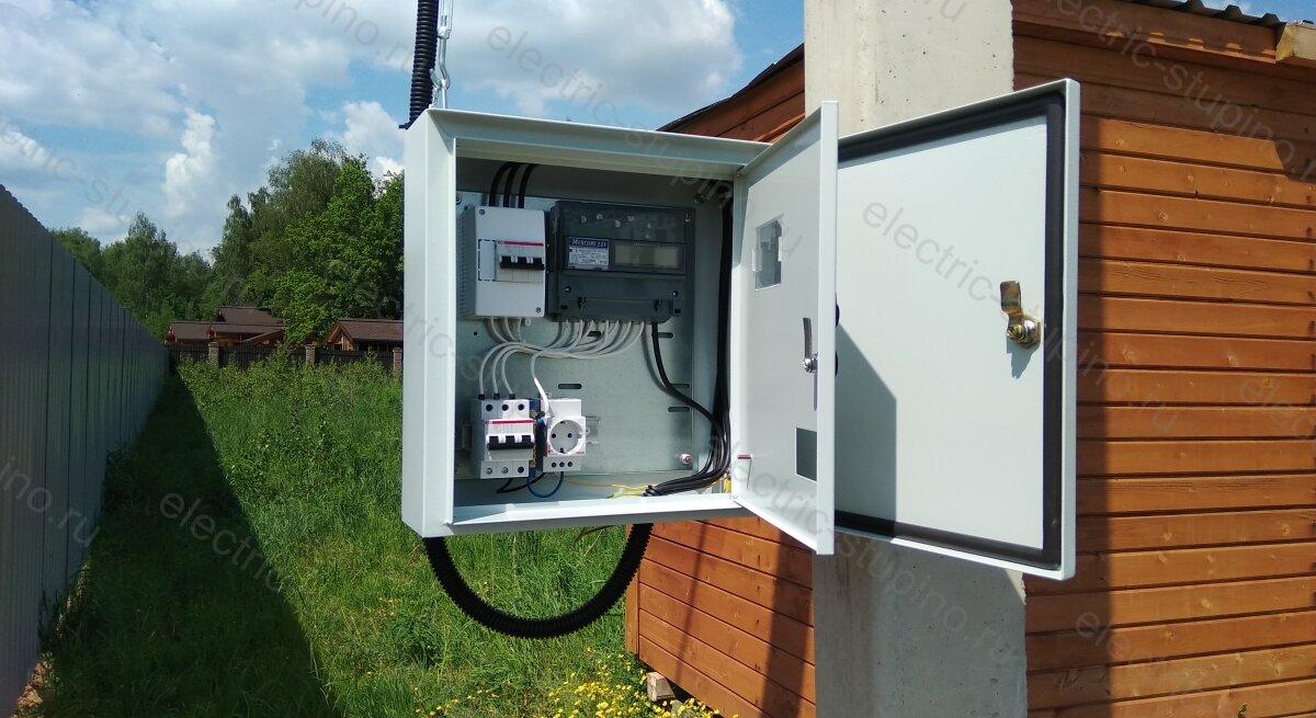 Подключение участка в СНТ к электросети 15 кВт