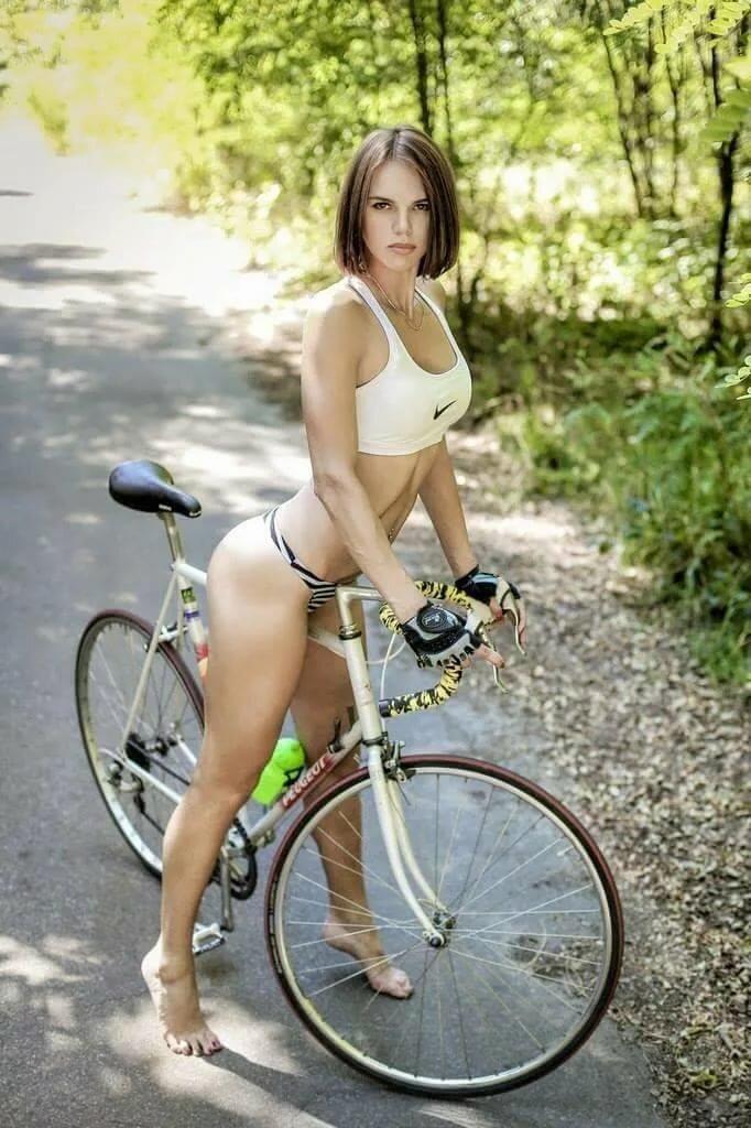 Girls on back of bike pics