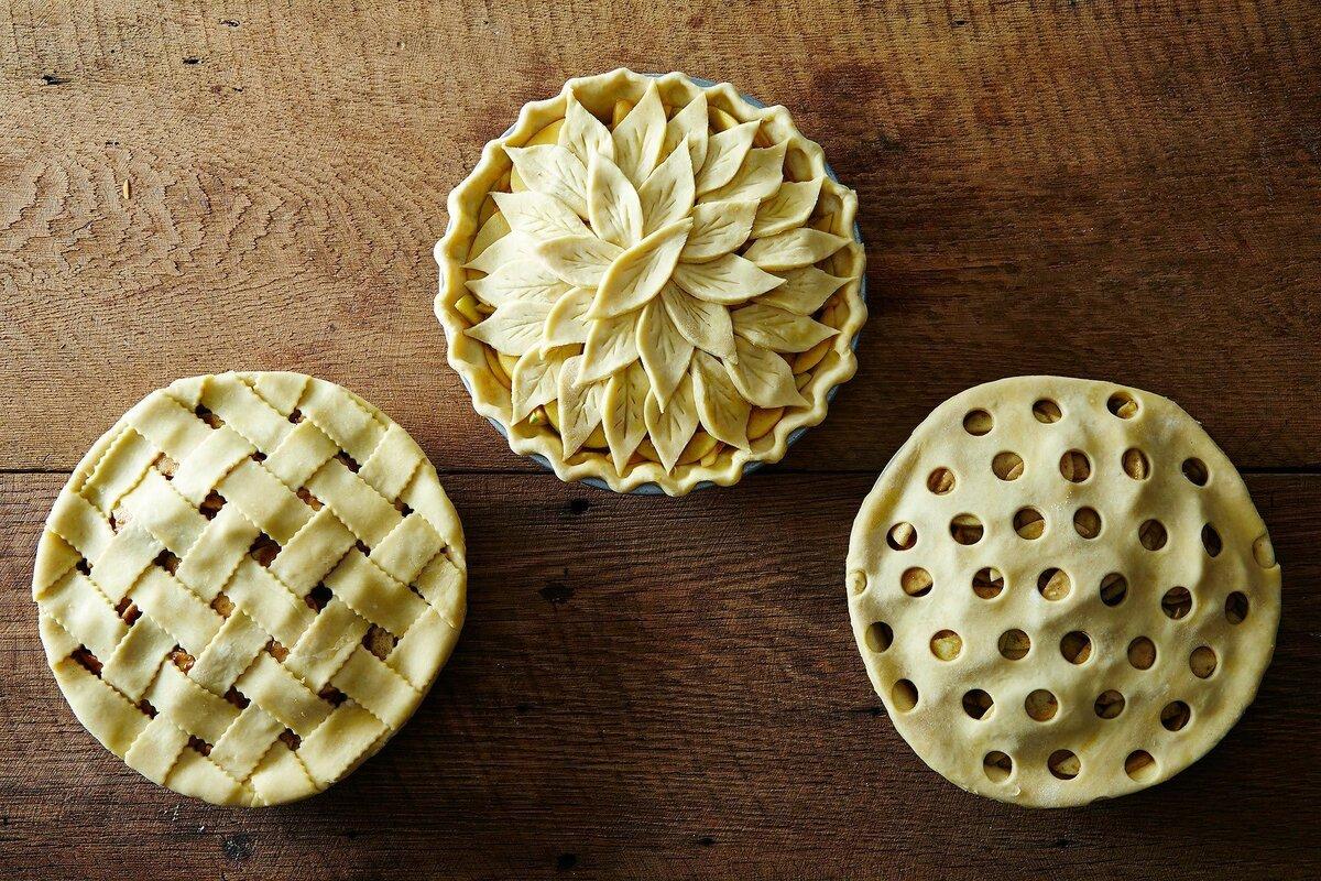 очищенный поток как украшать пироги из дрожжевого теста фото этого