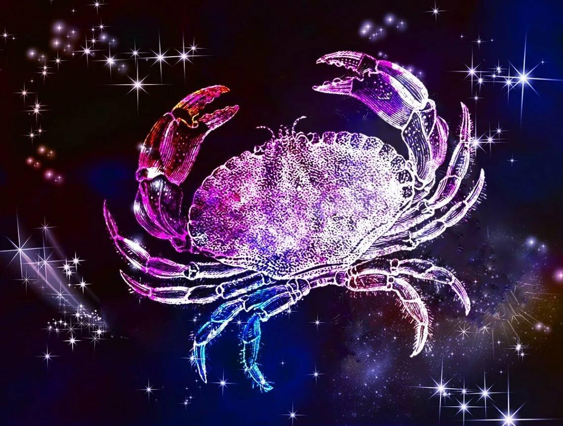 Открытки, картинки с надписью гороскоп рак
