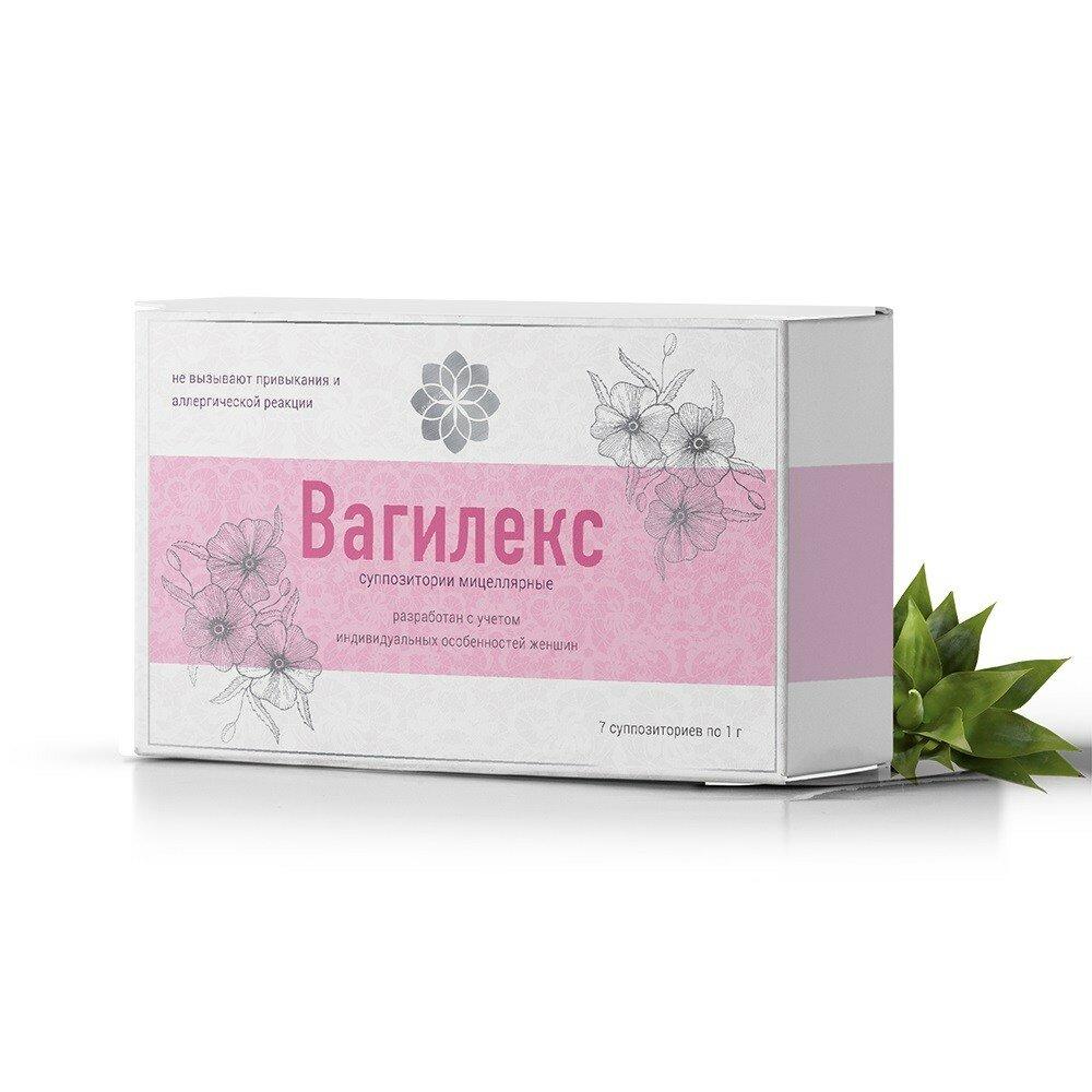 Вагилекс cвечи для сужения влагалища в Вилючинске