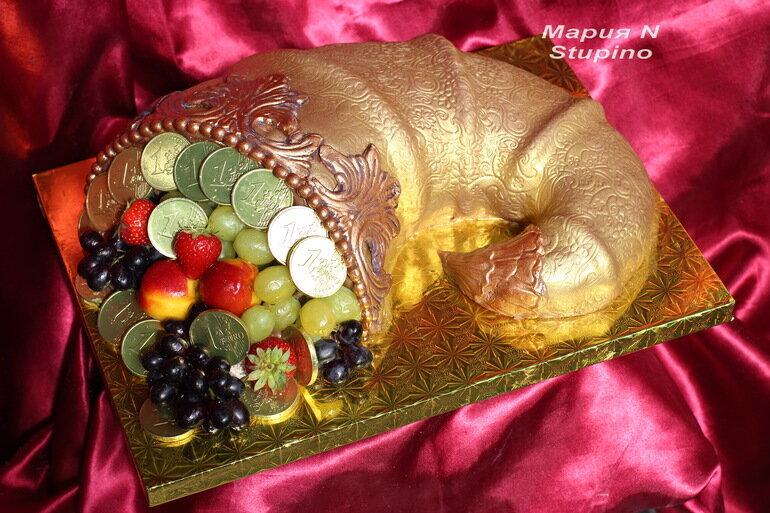 оформление и приготовление торта рог изобилия фото время изготовления