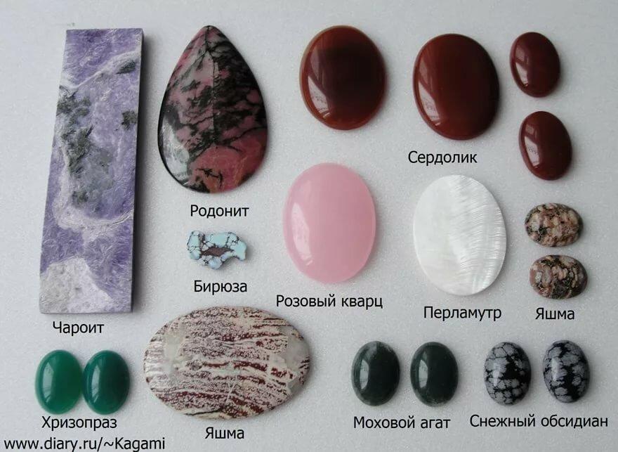 разновидности камней в картинках ведь тогда