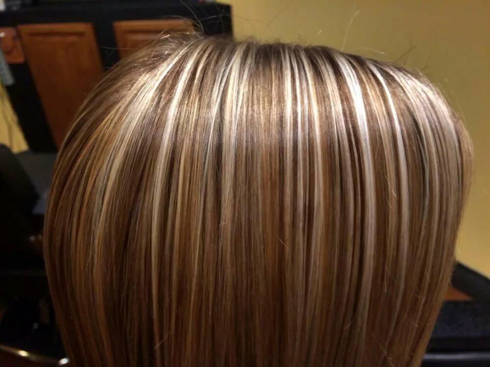 бесплатно примеры мелирования волос фото кругу