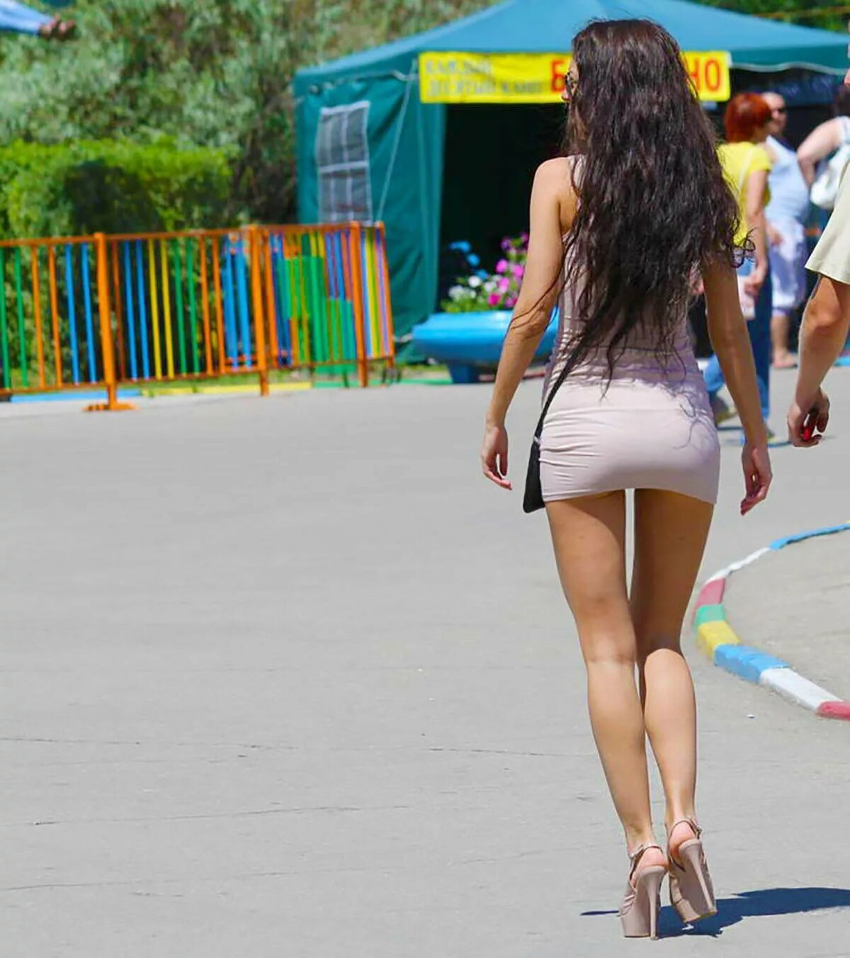 секси фото на улице