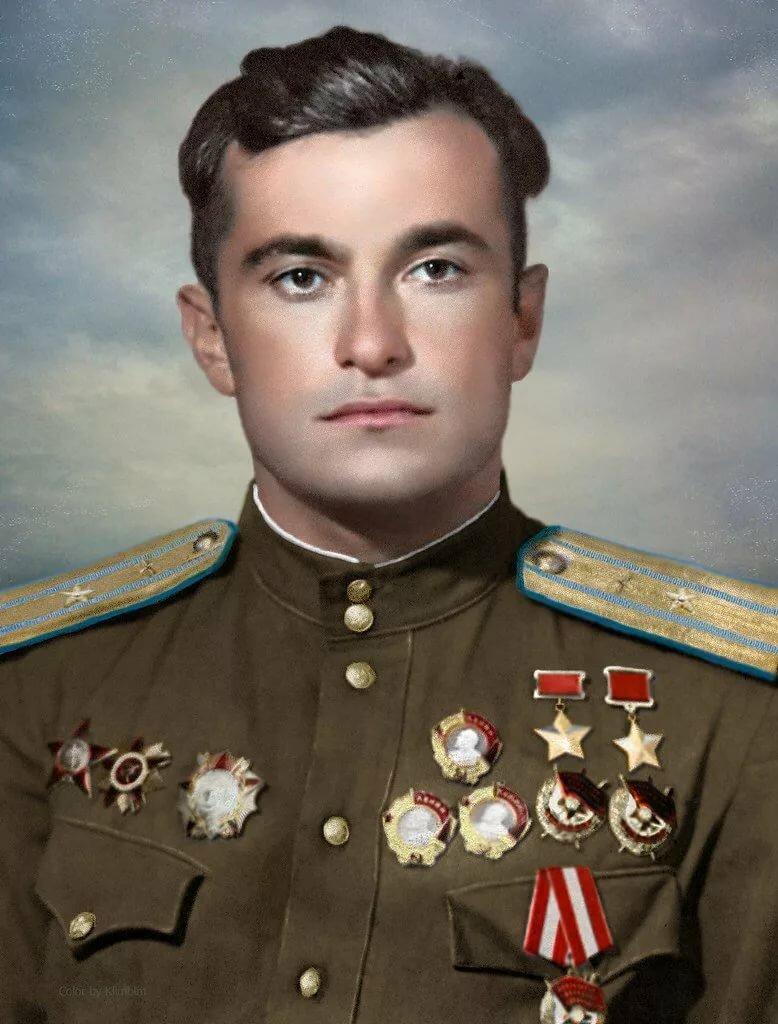 летчики вов герои советского союза