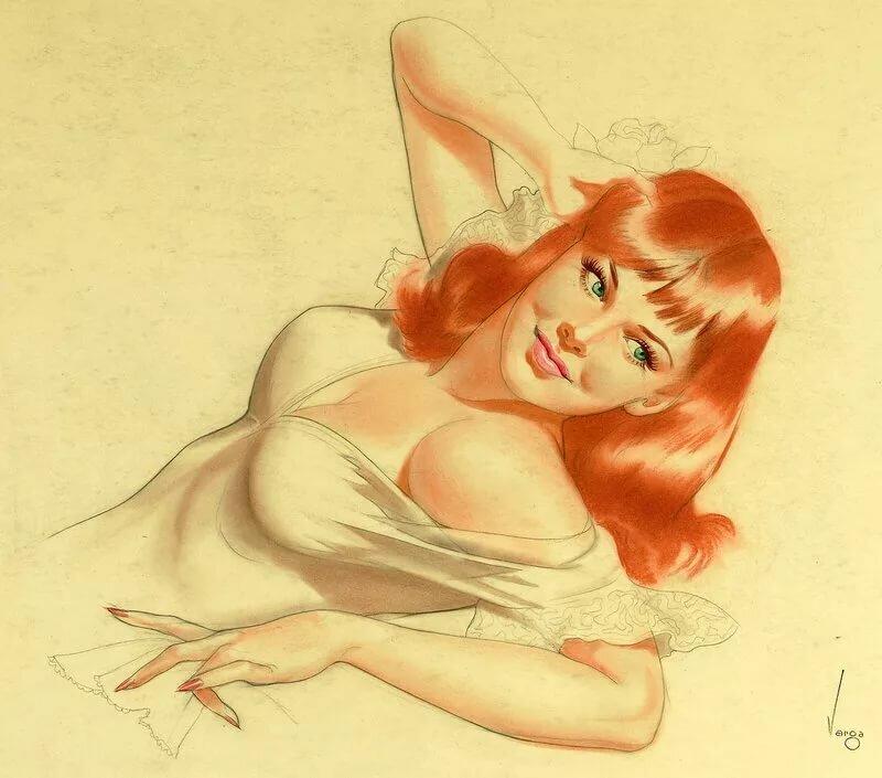Рисунки карандашом прикольные женщины, картинки