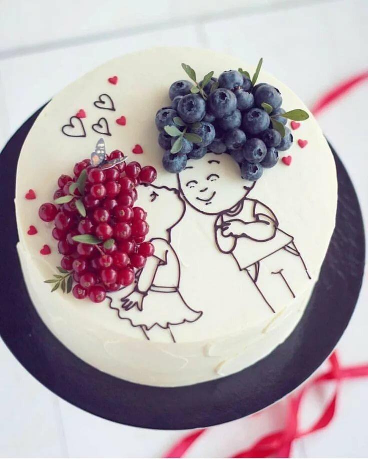запросу скинни рисунки шоколадом на торте плоские