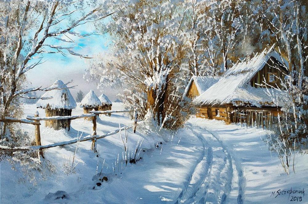 такое анимационные картинки зима в деревне филе индейки