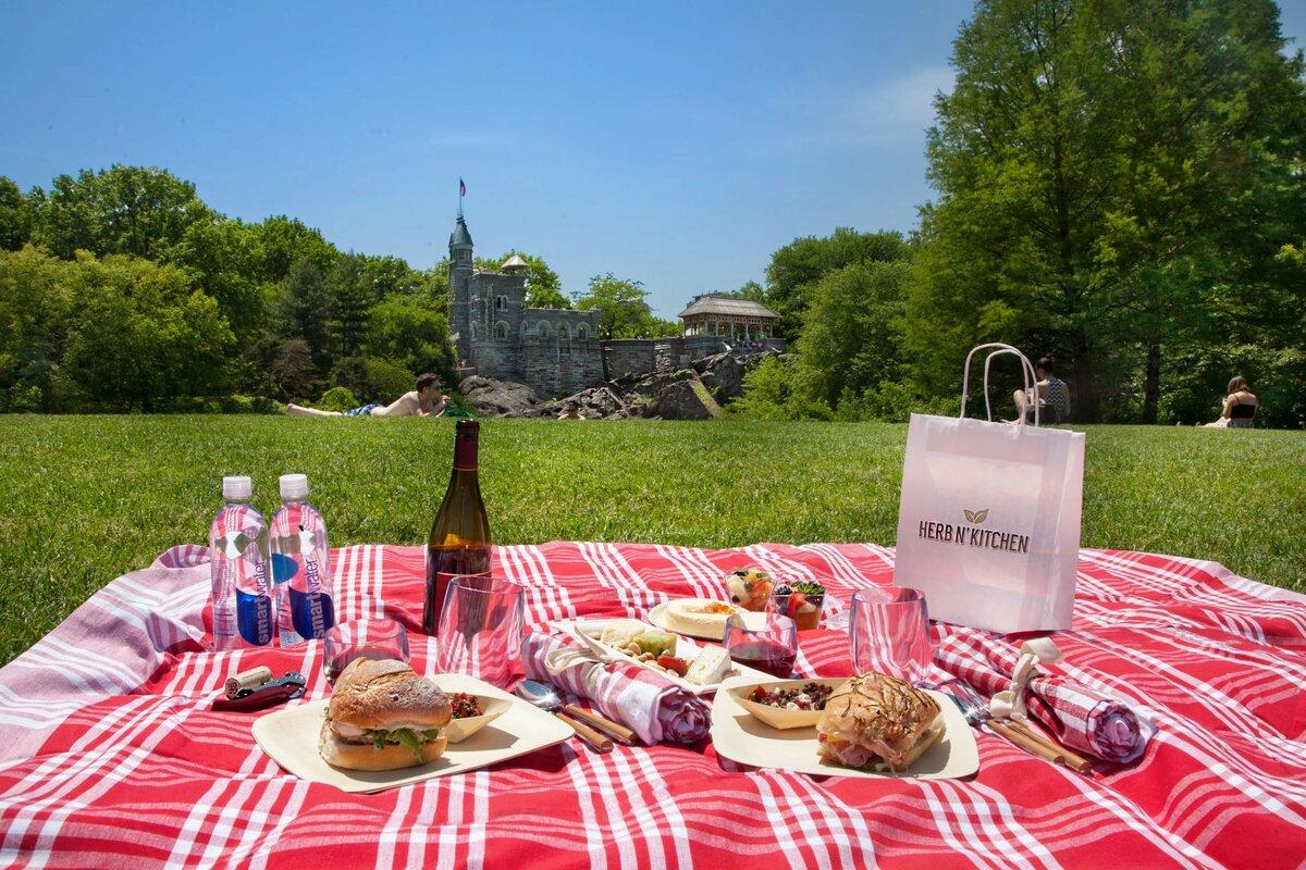 Пикник на траве картинки