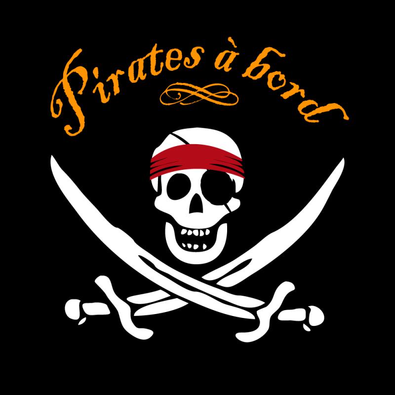 есть некоторые пиратские атрибуты в картинках детям они проявляют