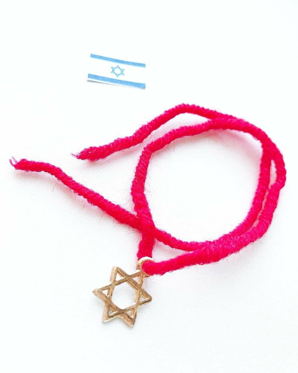 Красная нить от сглаза из Иерусалима в Керчи