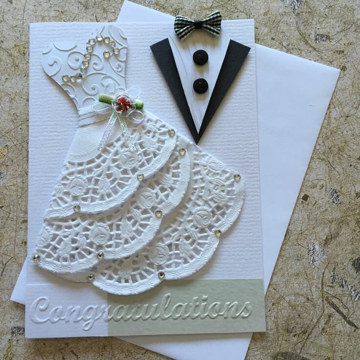 Открытках, делаем открытки к свадьбе